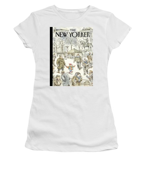 Winter Delight Women's T-Shirt
