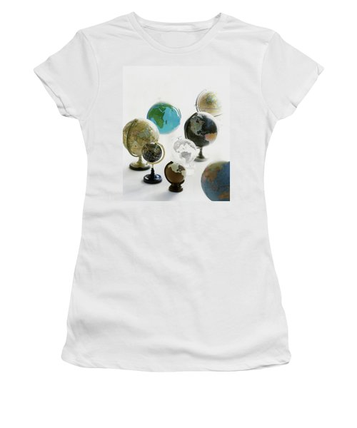 A Collection Of Globes Women's T-Shirt
