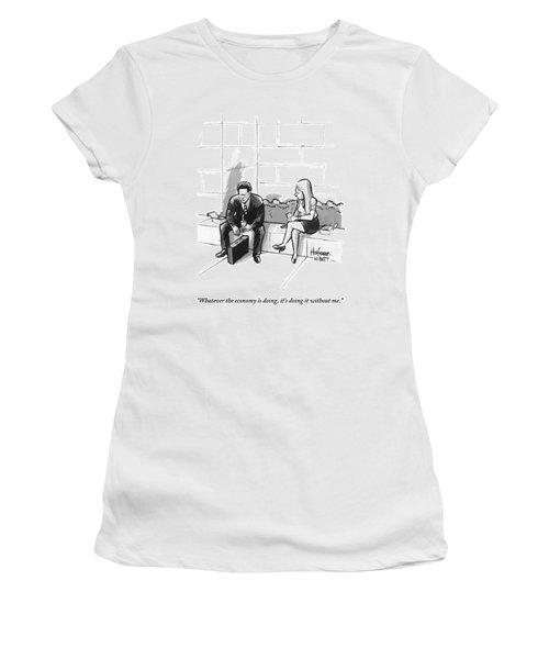 A Dejected Man Women's T-Shirt