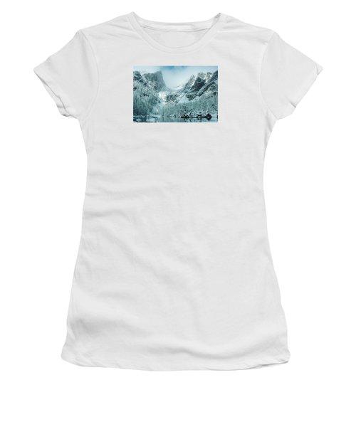 A Dream At Dream Lake Women's T-Shirt (Junior Cut) by Eric Glaser