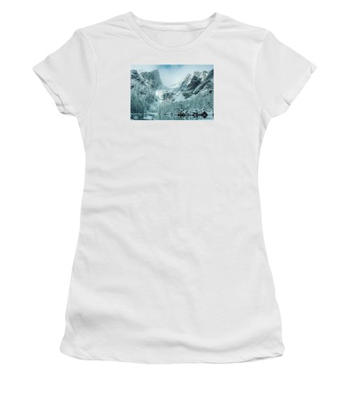 A Dream At Dream Lake Women's T-Shirt (Athletic Fit)
