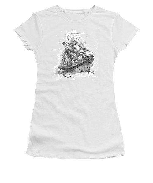 A Great Musician Women's T-Shirt (Junior Cut) by Laurie L