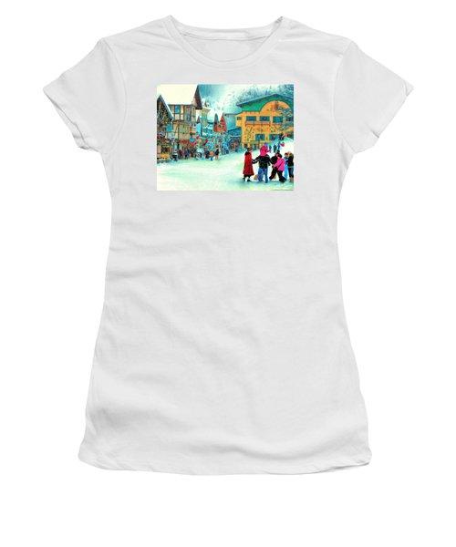 A Joyful Time Women's T-Shirt (Junior Cut) by Michael Pickett