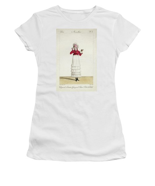A Lady In A Levantine Hat Women's T-Shirt (Athletic Fit)