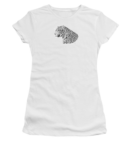 A Leopard's Watchful Eye Women's T-Shirt (Athletic Fit)