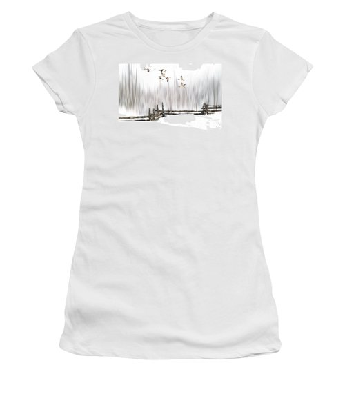 A Little Winter Magic Women's T-Shirt