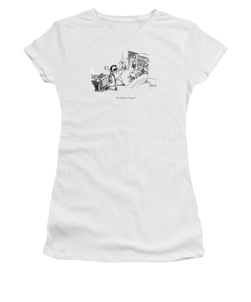 Everything Is Charged Women's T-Shirt