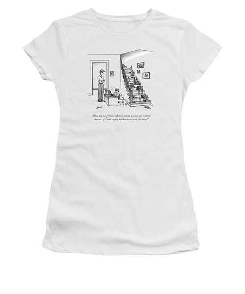 A Mother Speaks To Her Son Women's T-Shirt