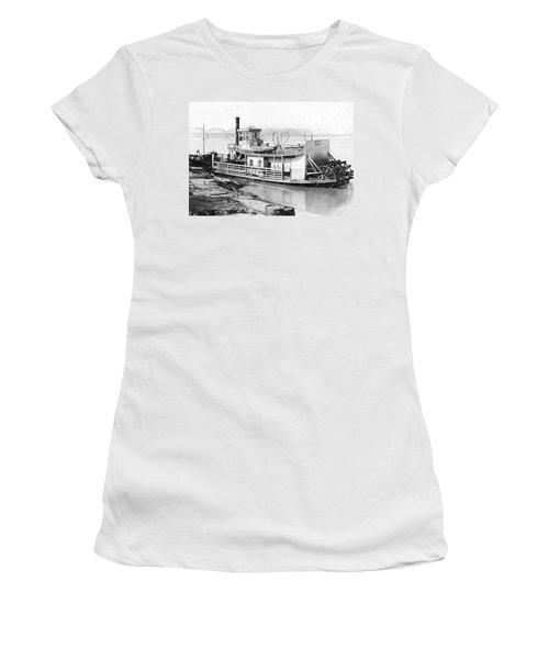 A Paddlewheel Ferry Boat Women's T-Shirt