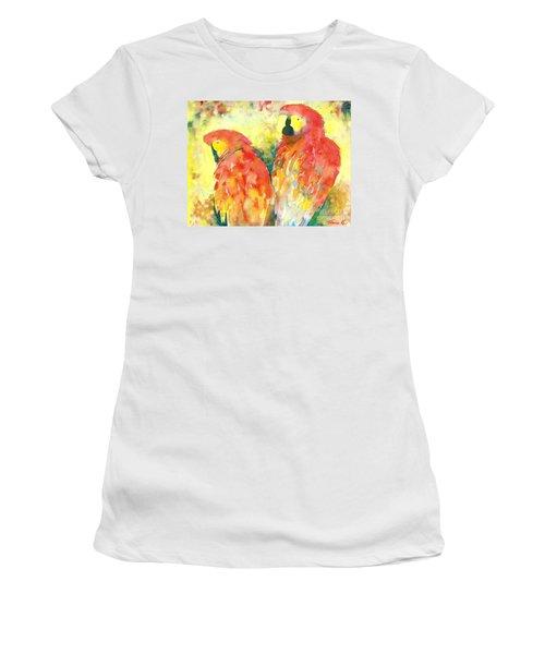 A Splash Of Crimson Women's T-Shirt