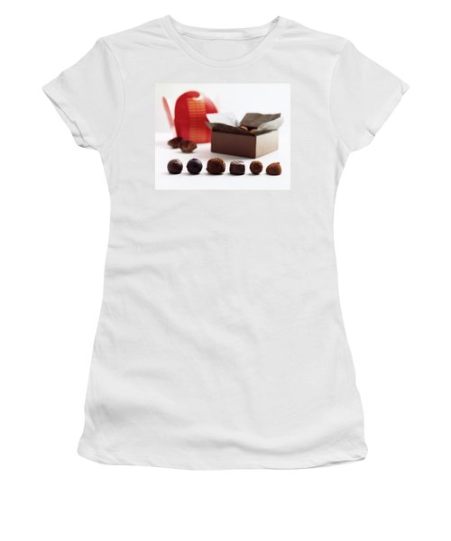 A Still Life Photo Of Gourmet Chocolates Women's T-Shirt
