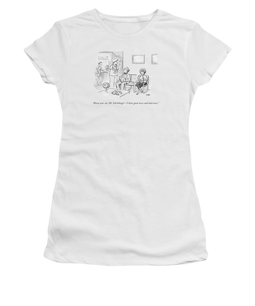 A Veterinarian Confronts A Man In The Waiting Women's T-Shirt