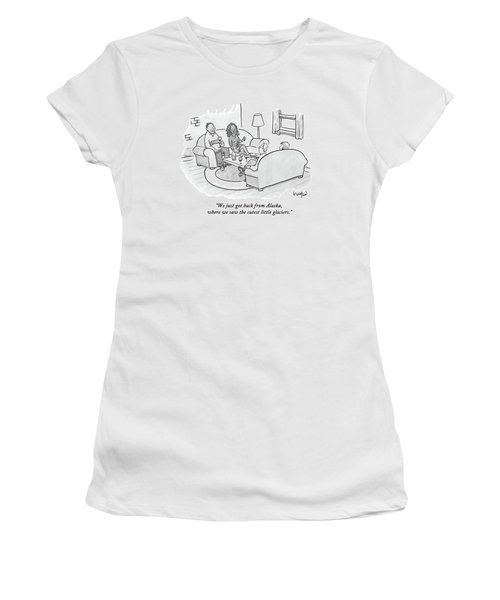 A Wife Tells Guests At A Dinner Party Women's T-Shirt