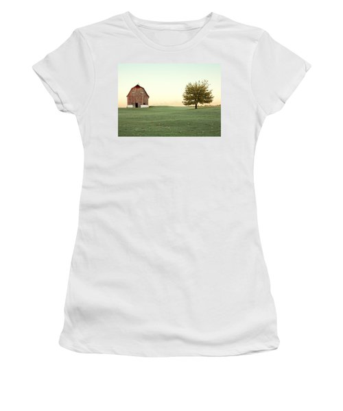 A Wisconsin Postcard Women's T-Shirt (Athletic Fit)