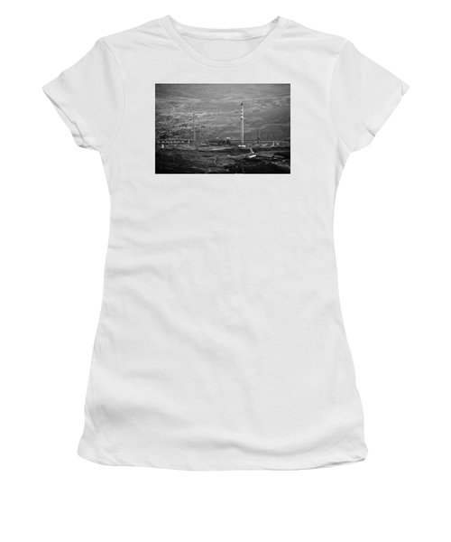 Abandoned Smokestacks Women's T-Shirt (Athletic Fit)