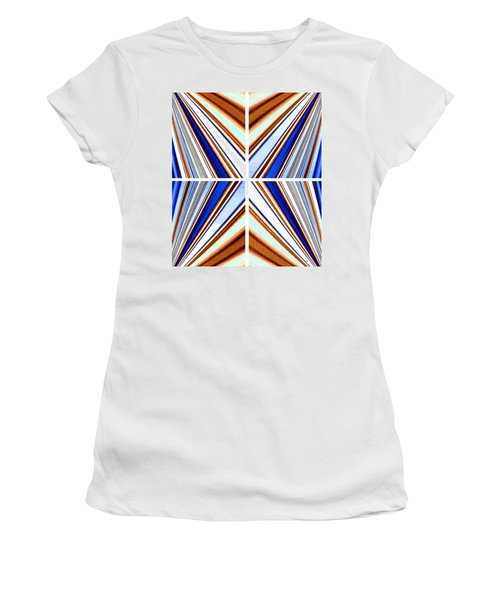 Women's T-Shirt (Athletic Fit) featuring the digital art Abstract Fusion 236 by Will Borden