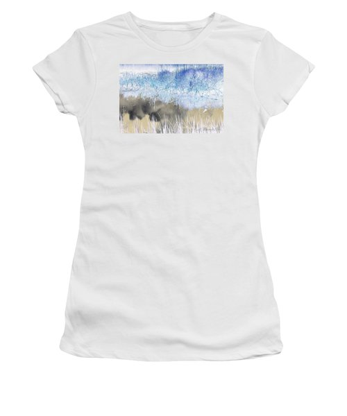 Abstract Marsh  Women's T-Shirt (Athletic Fit)