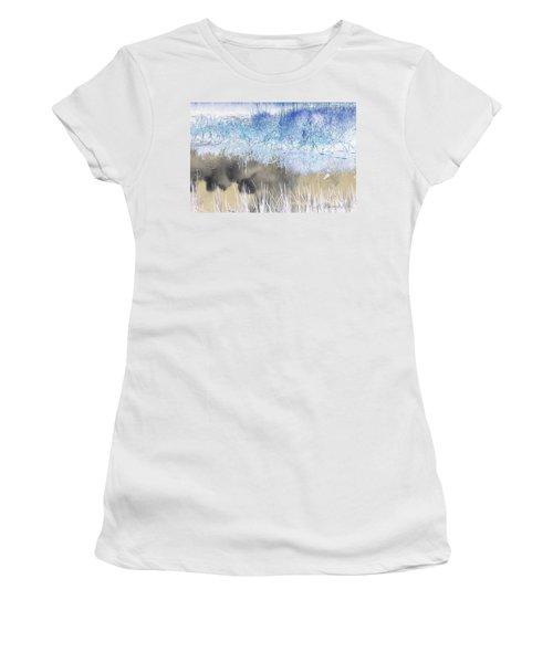 Abstract Marsh  Women's T-Shirt (Junior Cut)
