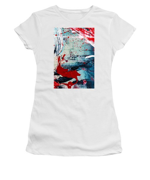 Abstract Original Artwork One Hundred Phoenixes Untitled Number Six Women's T-Shirt (Athletic Fit)