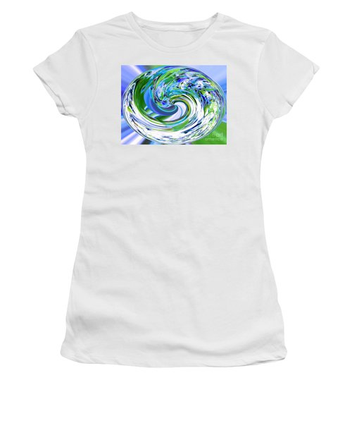 Abstract Reflections Digital Art #3 Women's T-Shirt
