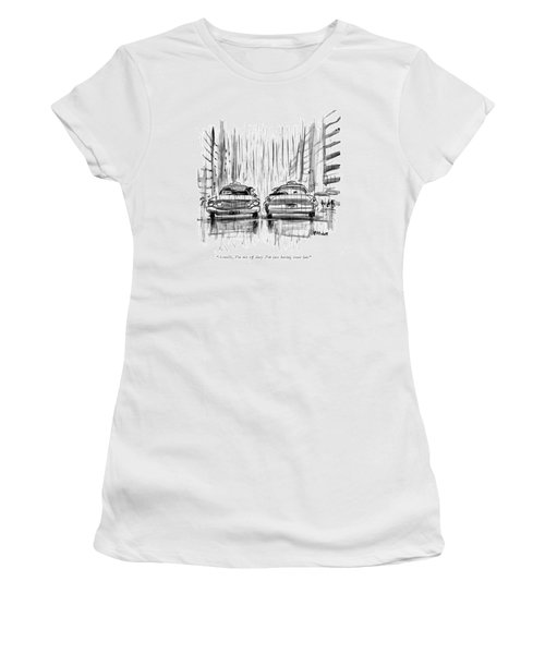 Actually, I'm Not Off Duty. I'm Just Having Some Women's T-Shirt
