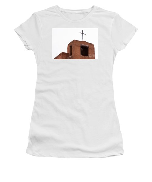 Adobe Steeple Women's T-Shirt (Athletic Fit)
