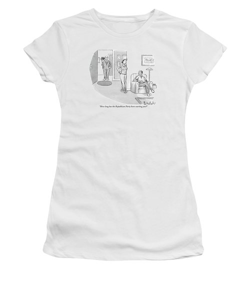 African American Woman Speaks To African American Women's T-Shirt