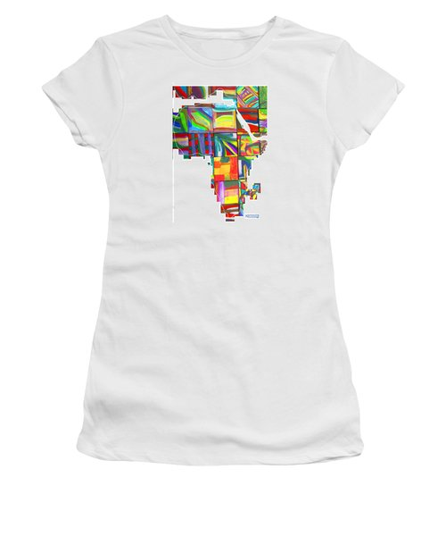 African Brightness Women's T-Shirt (Athletic Fit)