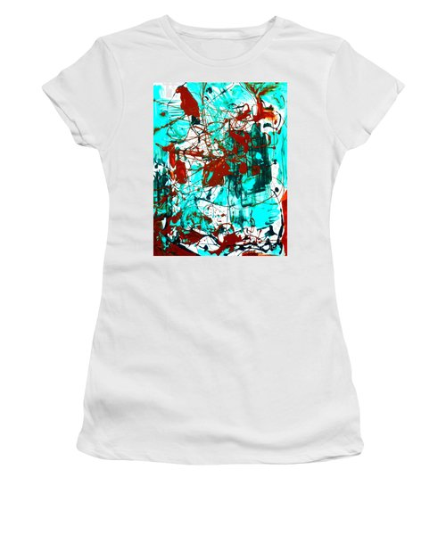 After Pollock Women's T-Shirt (Athletic Fit)