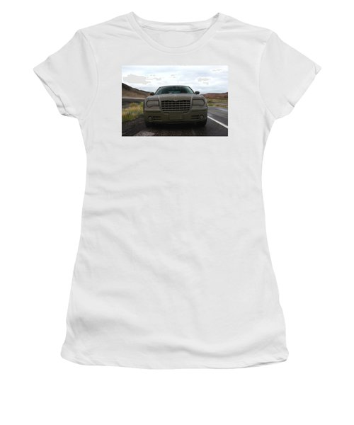 Aftermath Of The Mud Flood And Suddenly Things Went Dark Women's T-Shirt (Junior Cut) by Lon Casler Bixby