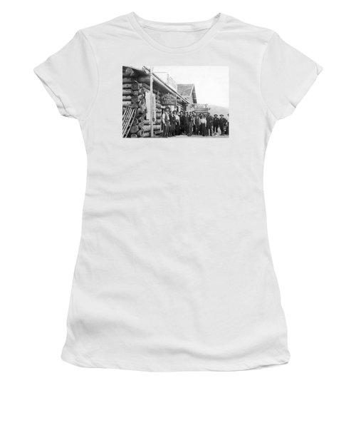 Alaskan Gold Miners Town Women's T-Shirt