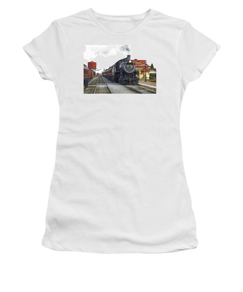 All Aboard Women's T-Shirt (Junior Cut) by Paul W Faust -  Impressions of Light