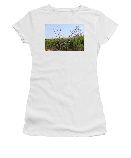 All Alone Women's T-Shirt (Athletic Fit)