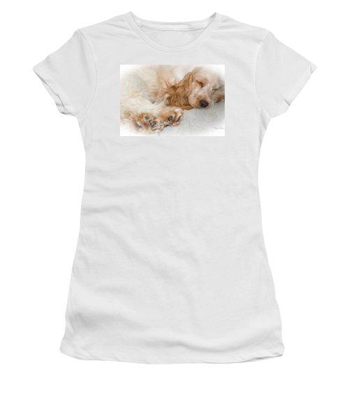 All Feet And Ears Women's T-Shirt (Junior Cut) by Susan Molnar