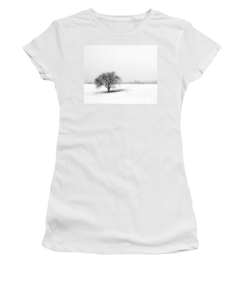 Alone Women's T-Shirt (Junior Cut) by Don Spenner