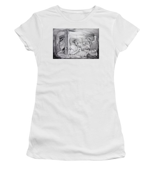 Alpha And Omega - The Reconstruction Of Bogomils Universe Women's T-Shirt (Athletic Fit)