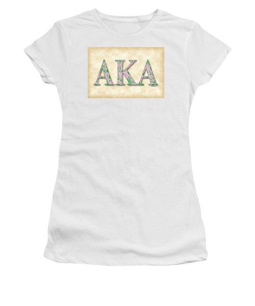 Alpha Kappa Alpha - Parchment Women's T-Shirt (Athletic Fit)