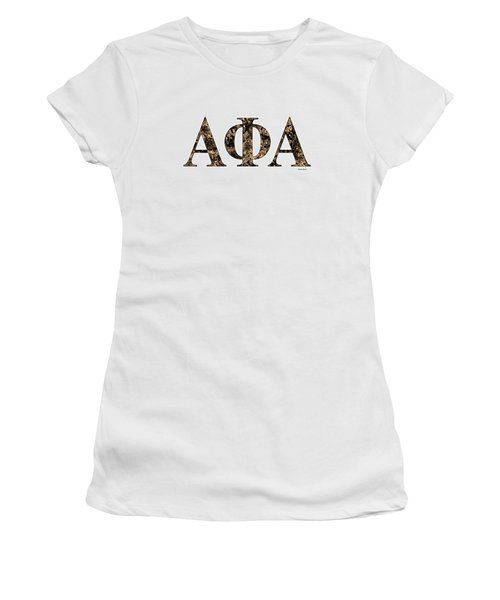 Alpha Phi Alpha - White Women's T-Shirt (Junior Cut) by Stephen Younts