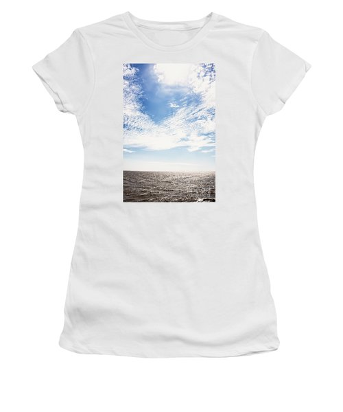 Altocumulus At Sea Women's T-Shirt (Athletic Fit)