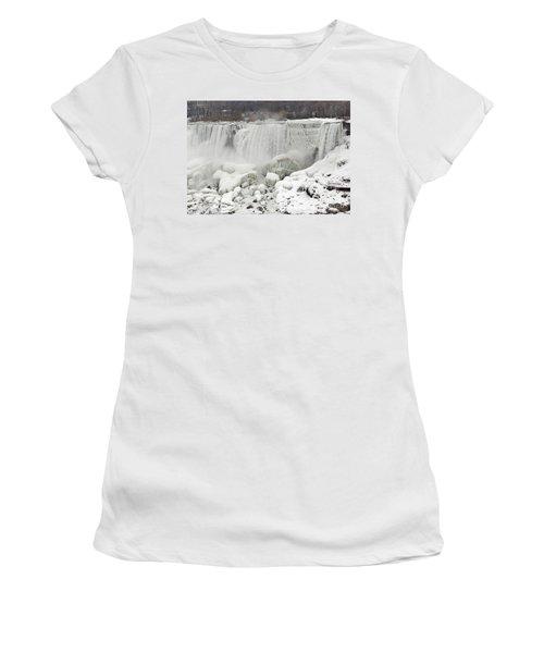American Falls Women's T-Shirt (Athletic Fit)