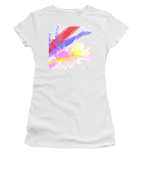 American Sunrise Women's T-Shirt (Junior Cut) by George Pedro