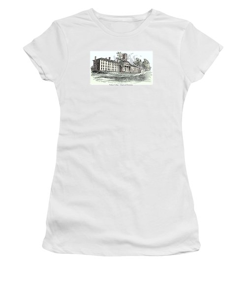 Amherst College - Chapel And Dormitories Women's T-Shirt (Athletic Fit)