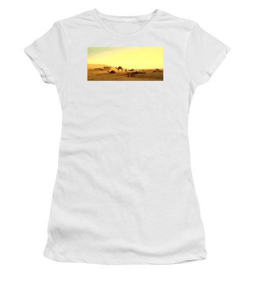 An Arab Encampment  Women's T-Shirt