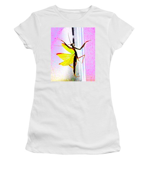 Women's T-Shirt (Junior Cut) featuring the photograph And Now Our Featured Dancer by Xn Tyler
