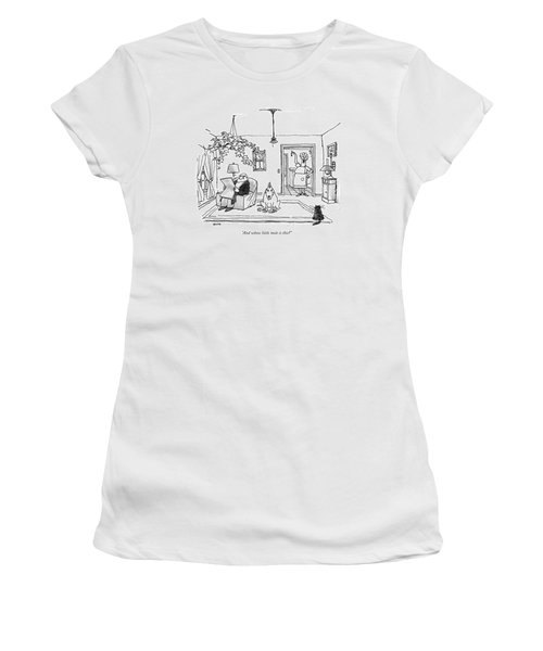 And Whose Little Mole Is This? Women's T-Shirt