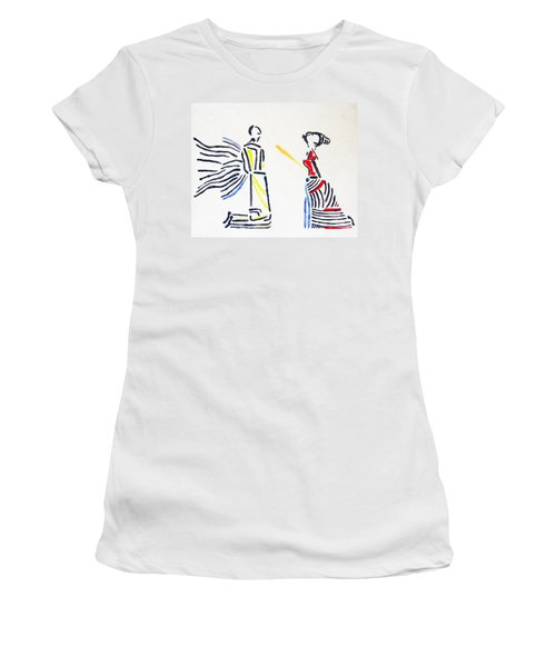 Annunciation Women's T-Shirt (Athletic Fit)