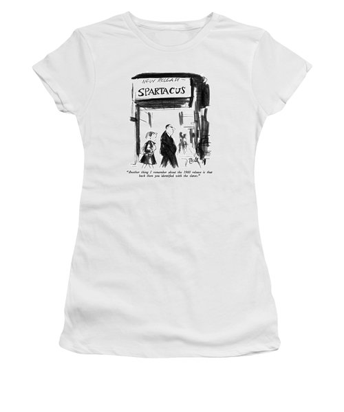 Another Thing I Remember About The 1960 Release Women's T-Shirt