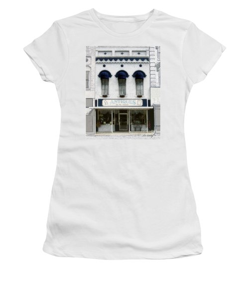 Antiques On The Square Women's T-Shirt