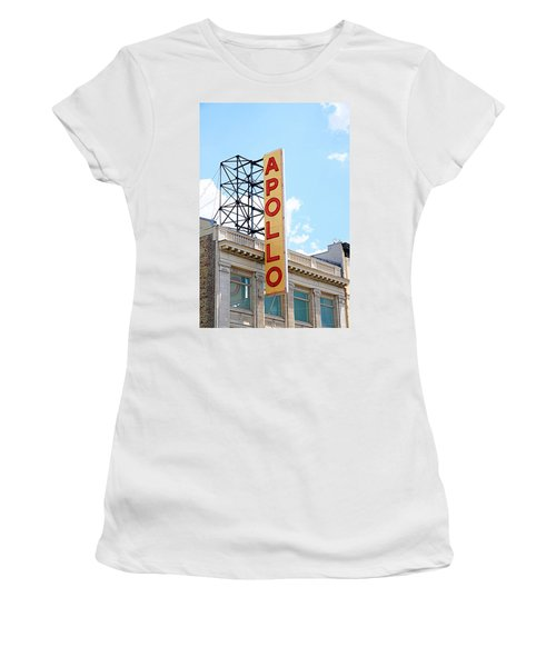 Apollo Theater Sign Women's T-Shirt
