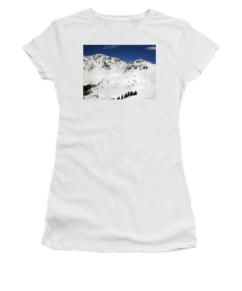 Arapahoe Basin Ski Resort - Colorado          Women's T-Shirt (Athletic Fit)